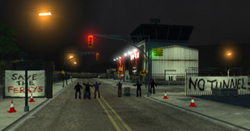 El ferry cerrado LCS