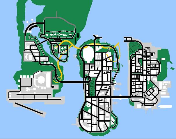 Archivo:Mapa Beta de GTA LibertyCityStories.png