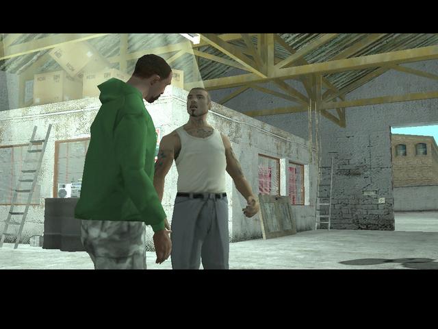 Archivo:Carl y Cesar conversando en el garaje.PNG