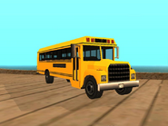 Restauracion del bus escolar en GTA SA