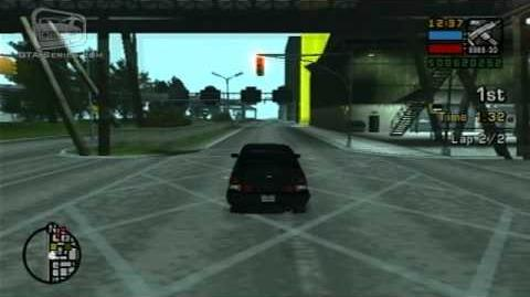 GTA Liberty City Stories - Street Race - Low Rider Rumble