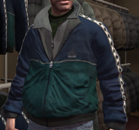 Chaqueta chándal spyde verde GTA IV