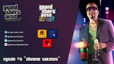 """Grand Theft Auto The Ballad of Gay Tony - """"Chinese Takeout"""""""