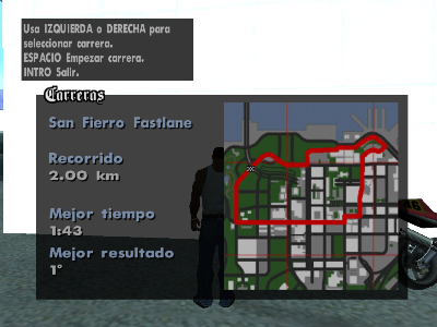 Archivo:Mapa del recorrido de San Fierro Fastlane.png