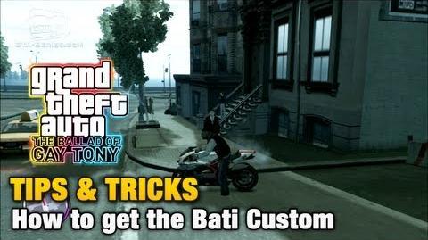 GTA The Ballad of Gay Tony - Tips & Tricks - How to get the Bati Custom-0