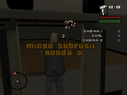 Micro subfusil ronda 3