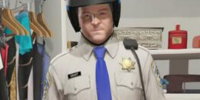 Indumentaria de policía de tráfico