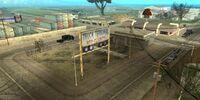 Terminal de camiones abandonada