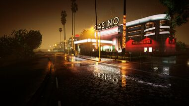 Vinewood-Casino-GTAVpc-by-night