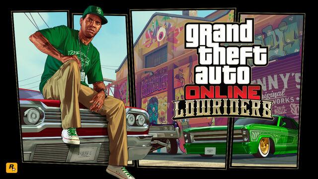 Archivo:Artwork GTAOnlineLowriders.jpg