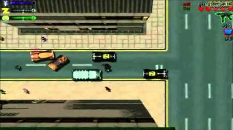 """Grand Theft Auto 2 - Misión Piraos """"Radio Za-Za"""""""