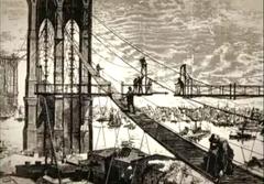 A History of Liberty-Puente Broker en construcción