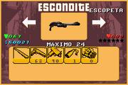 GTA A Escondite Escopeta