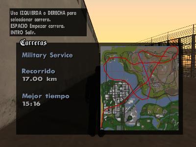 Archivo:Mapa del recorrido de Military Service.png