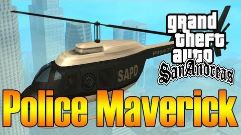 GTA San Andreas - Robando un Police Maverick - HD