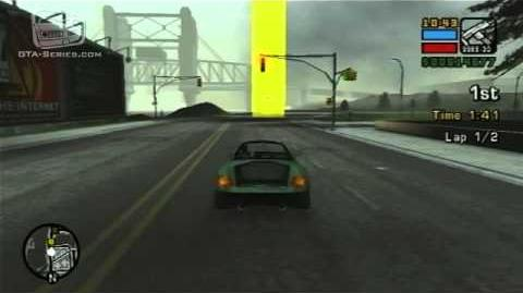 GTA Liberty City Stories - Street Race - Wi-Cheetah Run