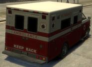 Ambulancia detrás GTA IV
