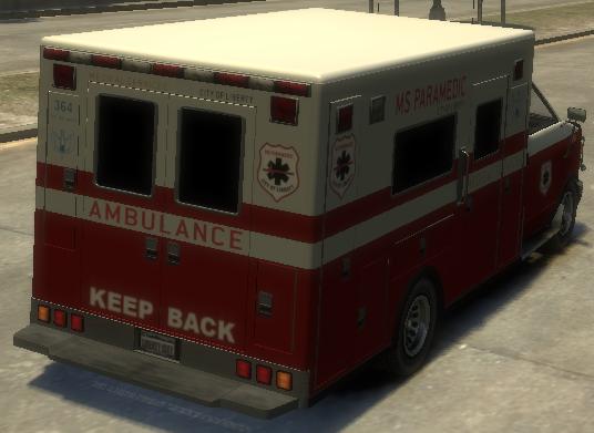 Archivo:Ambulancia detrás GTA IV.png