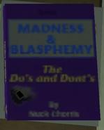 Madness & blasphemy