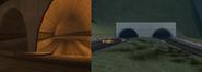 Comparación TúnelBayside Flint