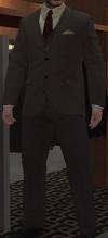 Chaqueta botones plomo chaleco pantalón ceniza GTA IV