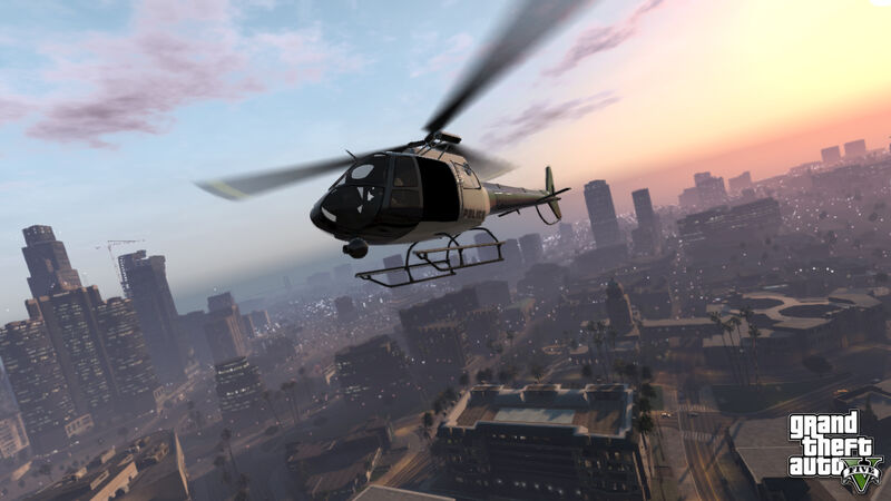 Helicóptero GTAV