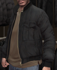Chaqueta piloto negra GTA IV