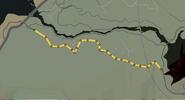 Trayecto carrera barrancos de cañon