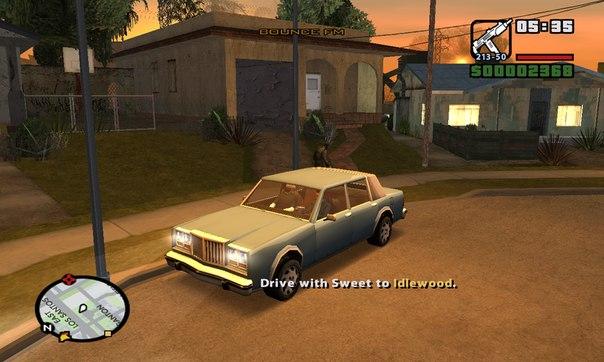 Archivo:GTA San Andreas Beta Grove Street y Radar.jpg