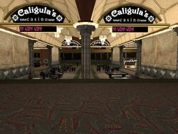 Interior casino Calígula