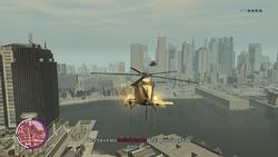 Buzzard disparando Annihilators