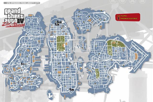 Archivo:GTA TLAD Mapa Gaviotas-Personajes.jpg