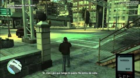 GTA IV Mission Call and Collect