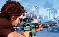 Artwork Francotirador GTA Online