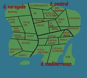 Mapa de gta RB