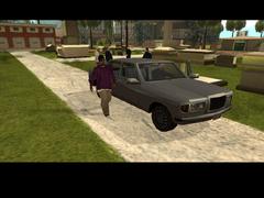 Kane saliendo del auto