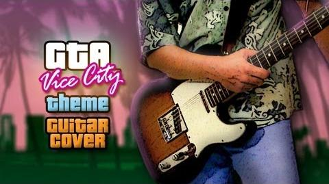 Vice City's Theme Covered on Guitar (10k Subs Special)