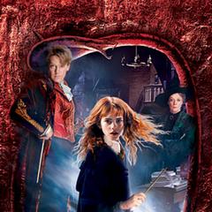 Hermione, Lockhart, McGonagall, señora Norris