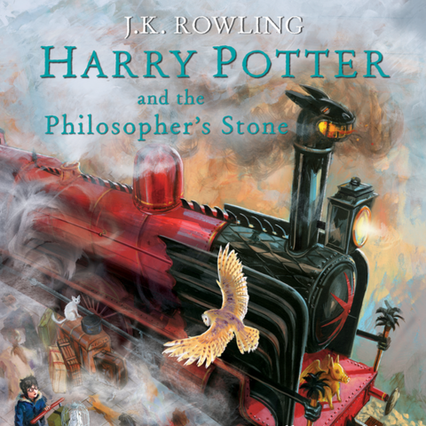 <i>Harry Potter and the Philosopher's Stone</i> (Illustrated)