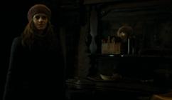 Hermione in Bathildas home