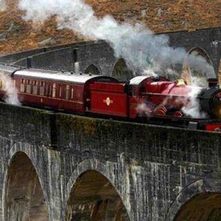 El expreso en el que llega Hogwarts
