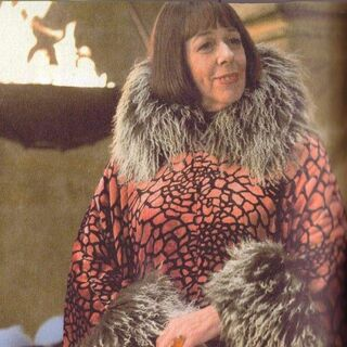 La directora de Beauxbatons, Madame Olympe Maxime