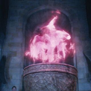 El cáliz de fuego