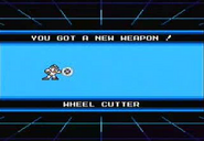 Wheel cutter obtained