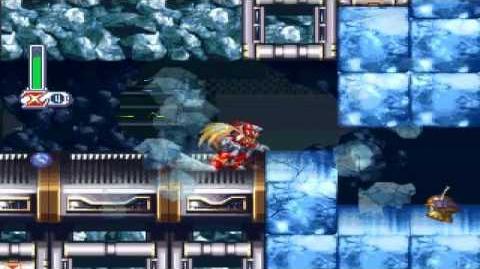 Megaman X4 Gameplay Parte 6- Frost Walrus