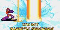Magnetic Shockwave