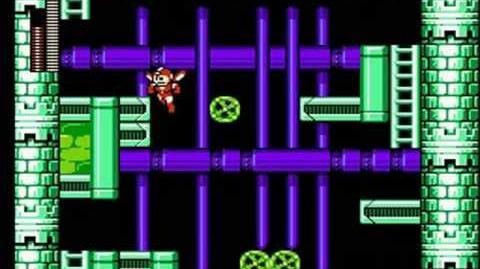 Mega Man 6 - Knight Man Stage Capital of Science
