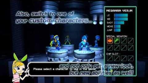 Mega Man Universe Gameplay Demo (HD)