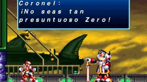 Mega Man X4 (Zero Vs Colonel) Pre-Final Weapon