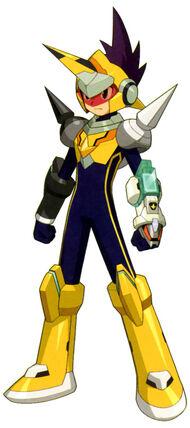 Megaman noise-gemini